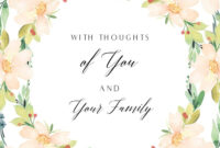 Pinmichelle Painter On Condolences | Free Printable intended for Sympathy Card Template