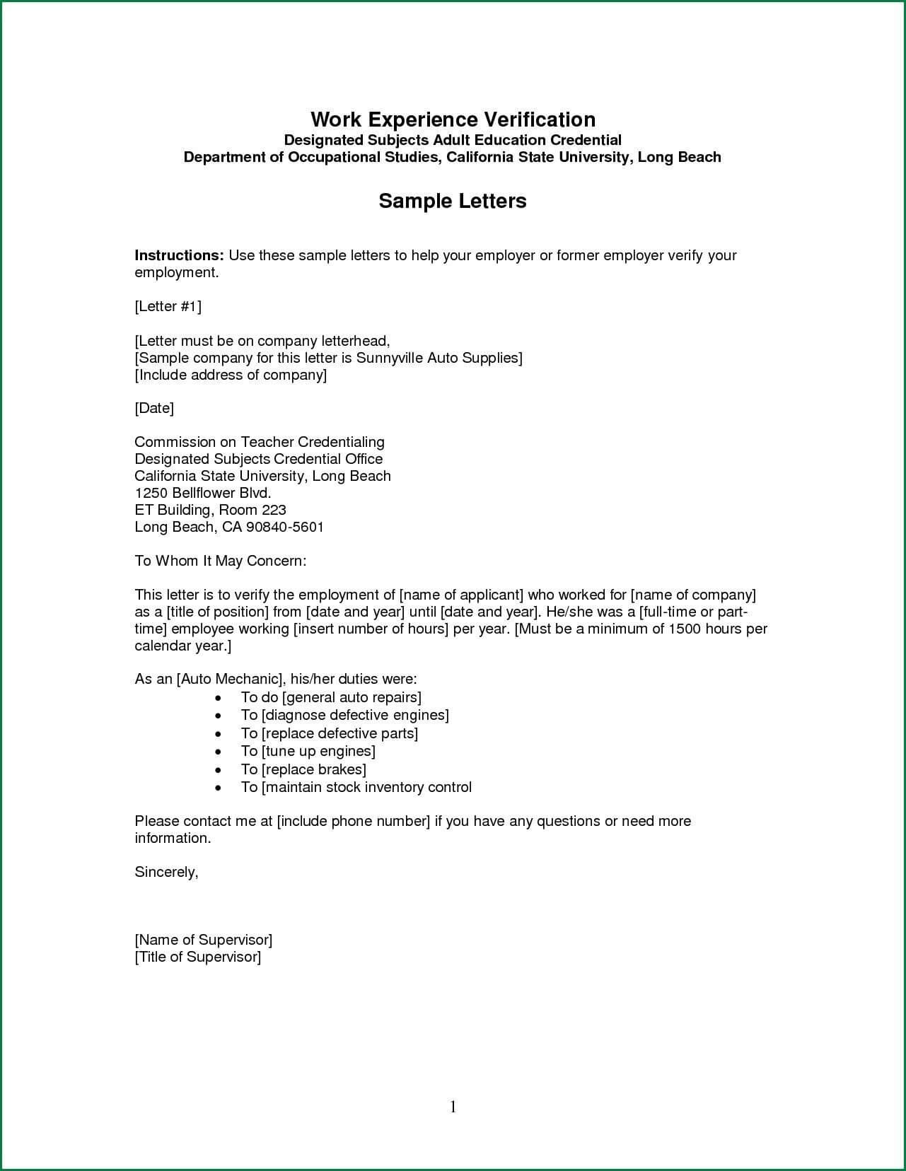 Pinnews Pb On Resume Templates   Job Letter, Lettering for Employment Verification Letter Template Word