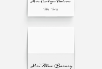 Pinplace Cards Online On 10 Stunning Fonts For Diy with regard to Celebrate It Templates Place Cards