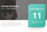 Pinpslides On Powerpoint Diagrams | Save The Date inside Save The Date Powerpoint Template