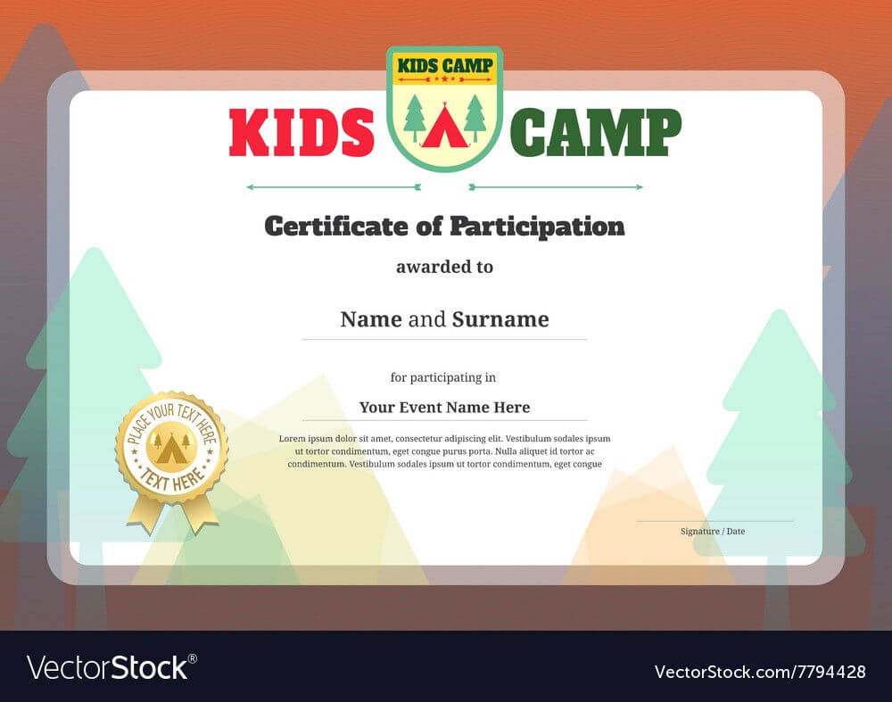 Pinramachandran R On Yoga   Certificate Of Participation inside Basketball Camp Certificate Template