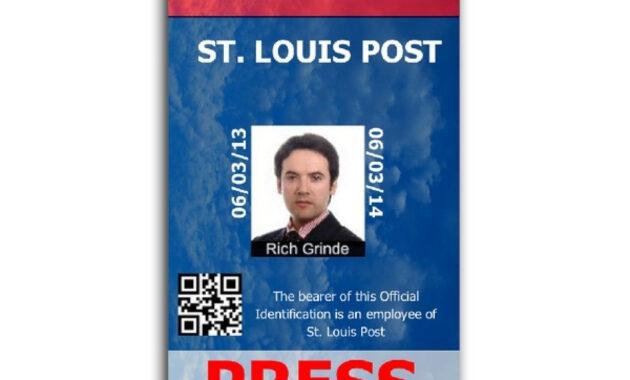 Pinrandell Fisco On Saved | Id Card Template, Id Badge regarding Media Id Card Templates