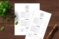 Pinrestaurant Spider On Restaurant Spider Store | Free with regard to Free Cafe Menu Templates For Word