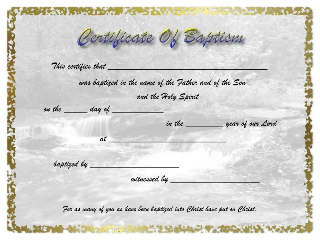 Pinselena Bing-Perry On Certificates   Certificate intended for Christian Certificate Template