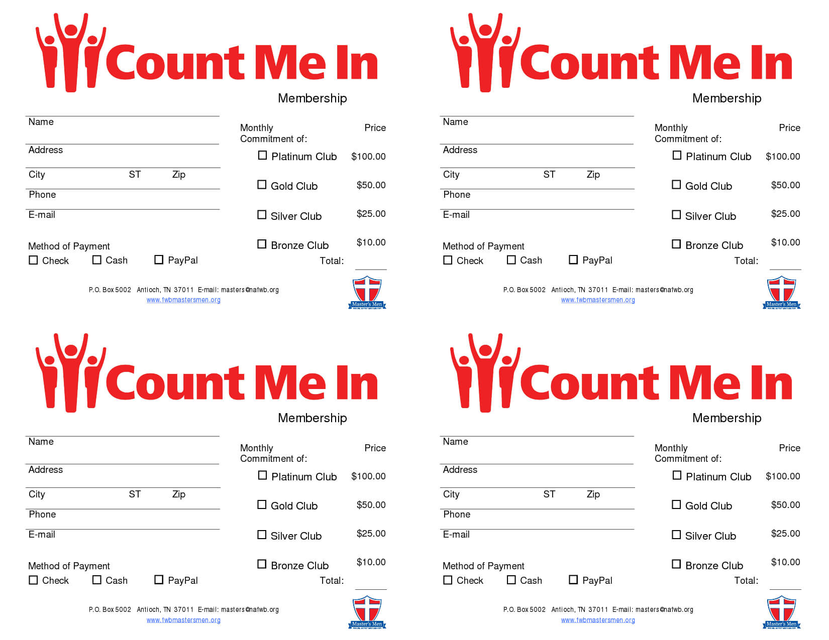 Pinthe Lacoca Shop (By Lacoca, Llc) On Fundraising Ideas within Fundraising Pledge Card Template