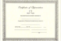 Pintreshun Smith On 1212 | Certificate Of Appreciation throughout Gratitude Certificate Template