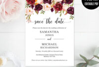 Pinvioleta Pironkova On Wedding Invitations | Save The pertaining to Save The Date Powerpoint Template