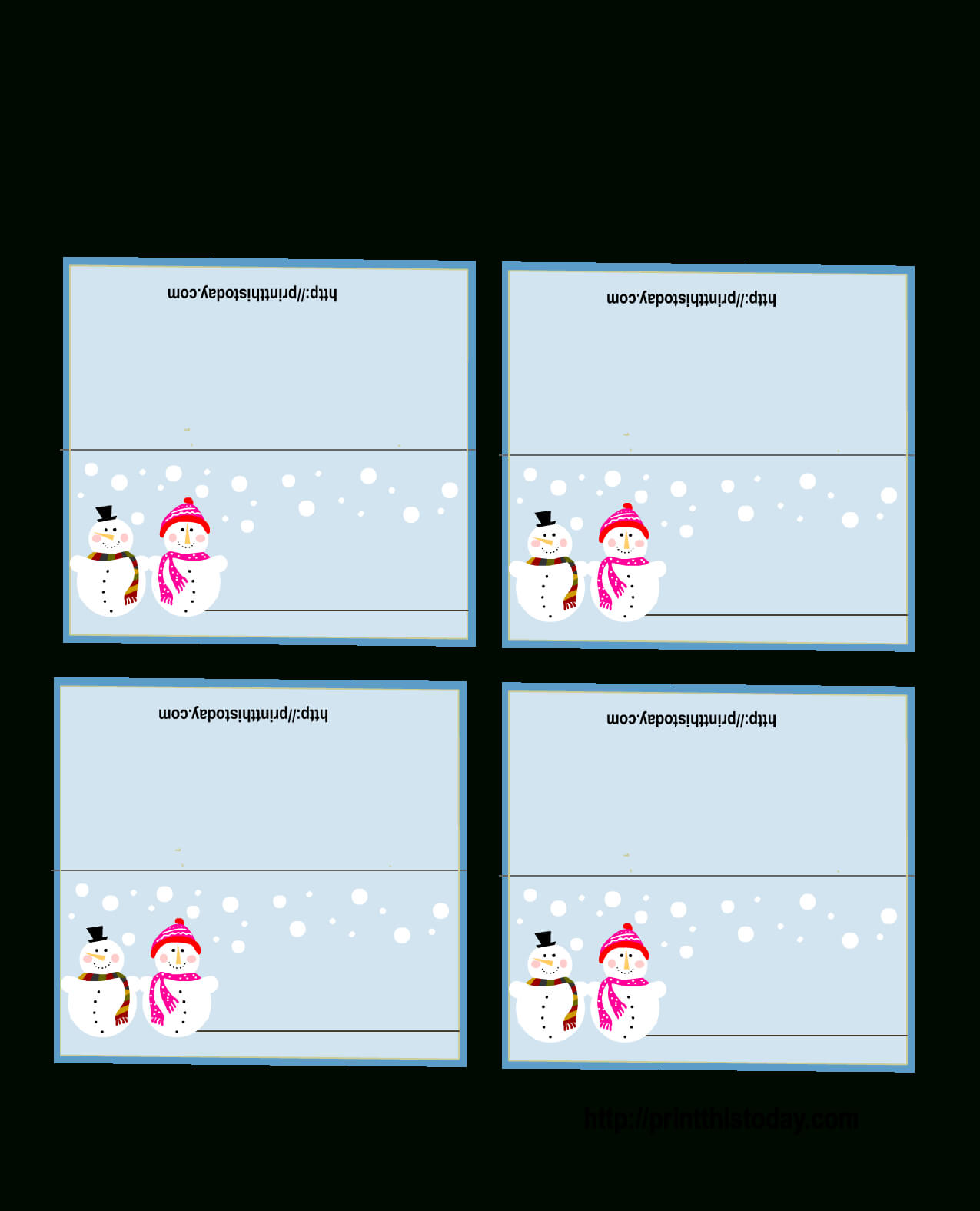 Place Card Template 6 Per Sheet Clipart Images Gallery For inside Place Card Template 6 Per Sheet