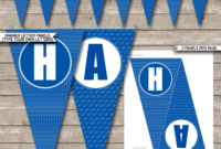 Pool Party Banner Template for Free Printable Party Banner Templates