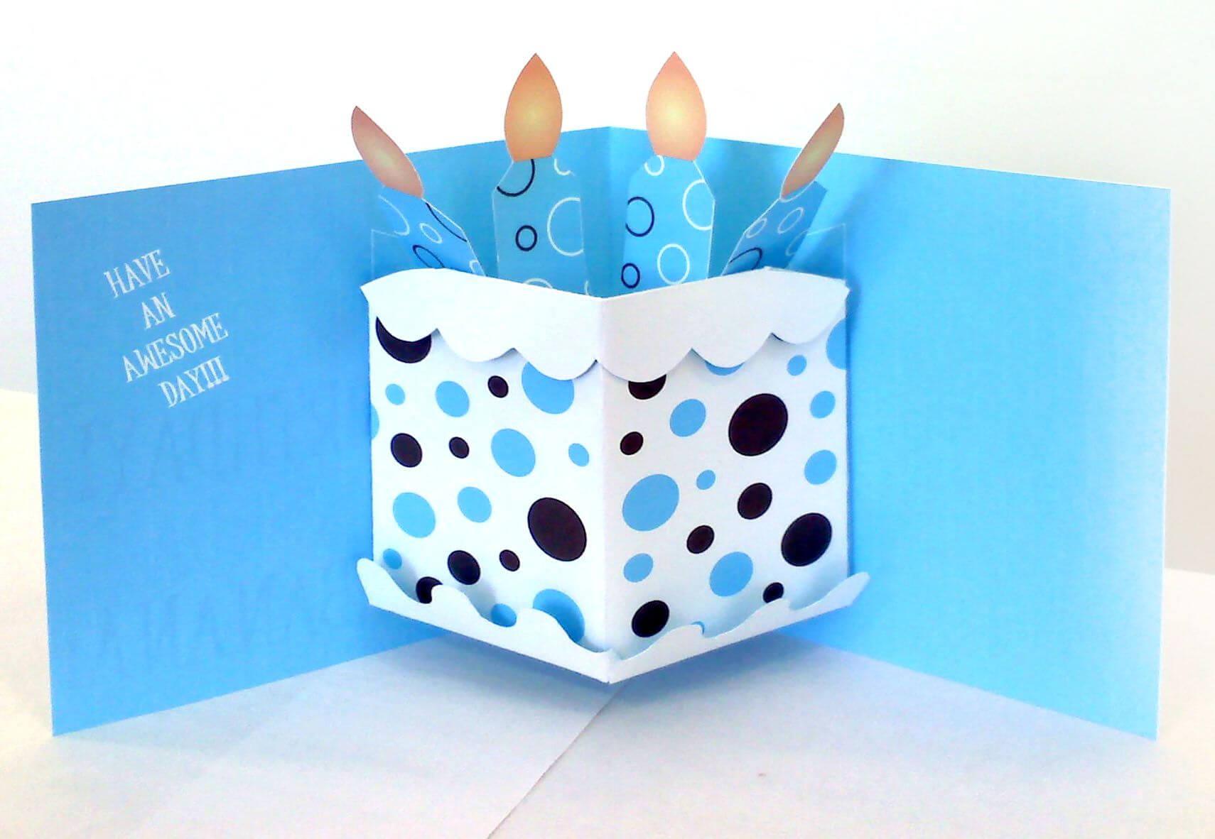 Pop Up Birthday Card | Pop Up Card Templates, Birthday Card intended for Pop Up Card Templates Free Printable