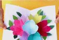 Pop Up Flowers Diy Printable Mother's Day Card – A Piece Of pertaining to Diy Pop Up Cards Templates