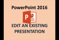 Powerpoint 2016 – Edit A Powerpoint Presentation – How To Edit Ppt Slides,  Editing In Ms Power Point within How To Edit A Powerpoint Template