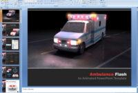 Powerpoint: Ambulance Flash Presentation Template pertaining to Ambulance Powerpoint Template