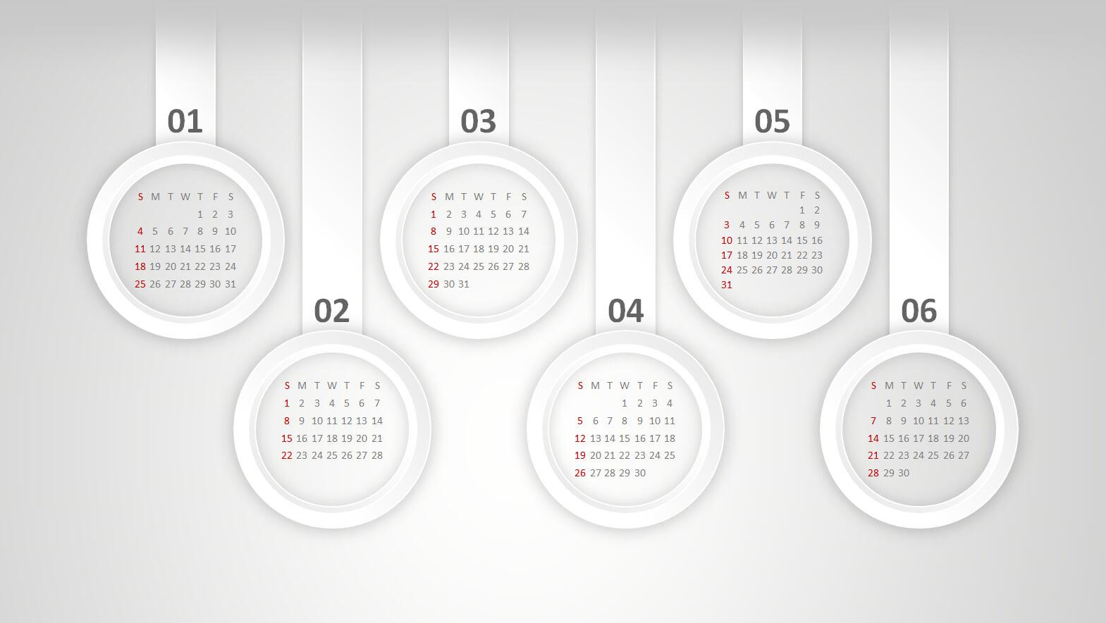 Powerpoint Calendar: The Perfect Start For 2015 throughout Powerpoint Calendar Template 2015