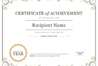 Powerpoint Certificate Template Clipart Images Gallery For pertaining to Powerpoint Award Certificate Template