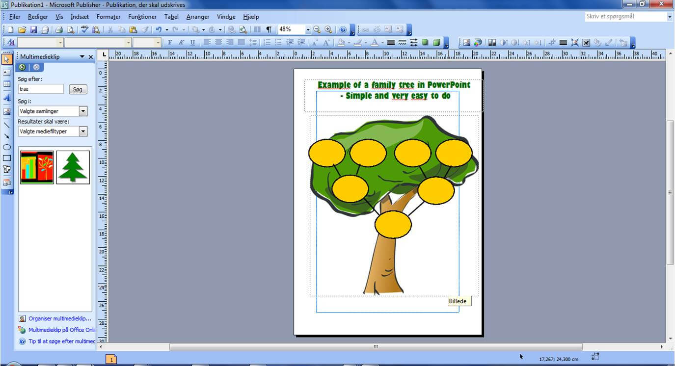 Powerpoint-Example-Of-Family-Tree – Family Tree Template intended for Powerpoint Genealogy Template