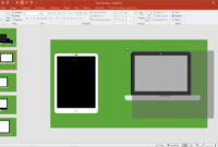 Powerpoint: How To Create Apple Device Mockup Templates within How To Create A Template In Powerpoint