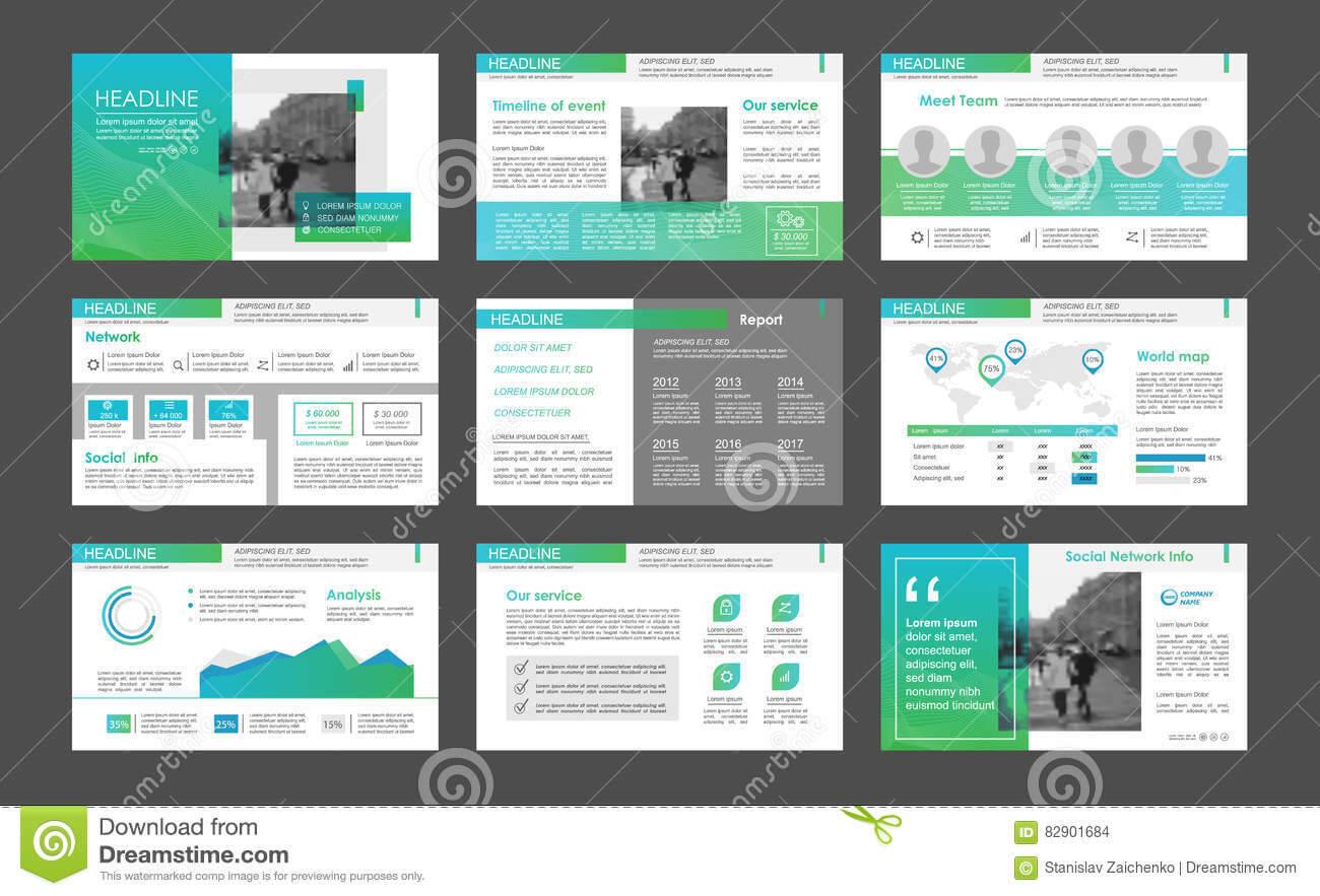 Powerpoint Presentation Template Background. Stock Vector inside Keynote Brochure Template