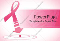 Powerpoint Template: Breast Cancer Awareness Pink Ribbon throughout Free Breast Cancer Powerpoint Templates