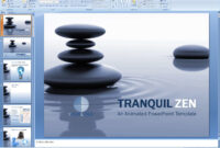 Powerpoint: Tranquil Zen Presentation Template pertaining to Presentation Zen Powerpoint Templates