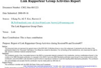 Ppt – Link Rapporteur Group Activities Report Powerpoint throughout Rapporteur Report Template