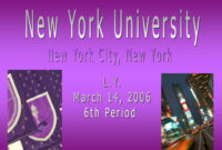 Ppt – New York University Powerpoint Presentation – Id:5898625 for Nyu Powerpoint Template