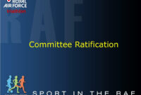 Ppt – Royal Air Force Triathlon Agm Powerpoint Presentation within Raf Powerpoint Template