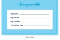 Pre-K Progress Report in Preschool Weekly Report Template