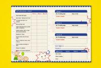 Pre-Nursery Report Card On Behance   Kindergarten Report within High School Student Report Card Template