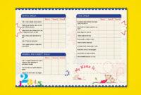 Pre-Nursery Report Card On Behance   Report Card Ideas in Boyfriend Report Card Template