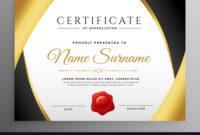 Premium Certificate Of Appreciation Template throughout Free Certificate Of Appreciation Template Downloads