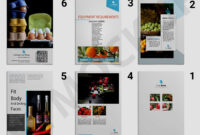 Premium Wine Brochure Template | Eymockup intended for Wine Brochure Template