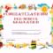 Preschool Graduation Certificate Template Free | Graduation Inside Certificate Templates For School