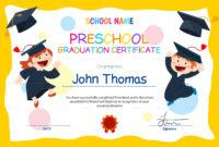 Preschool Graduation Diploma Free Printable | Free Printable in Free Printable Graduation Certificate Templates