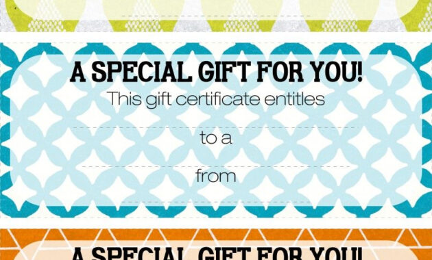 Pretty Printable Coupons. Give This To Let Them Know They inside Magazine Subscription Gift Certificate Template
