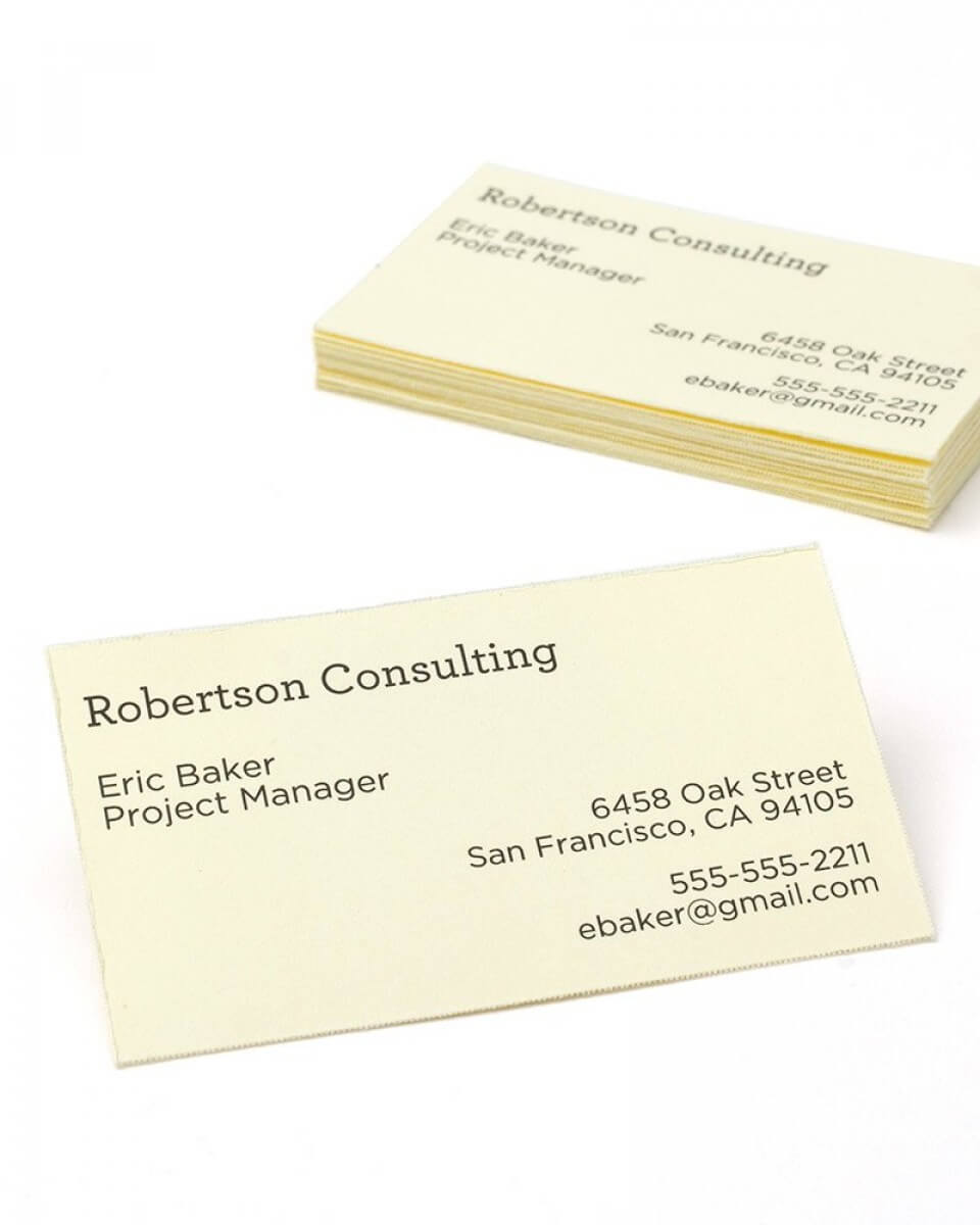Print At Home Ivory Business Cards – 750 Count With Regard To Gartner Business Cards Template