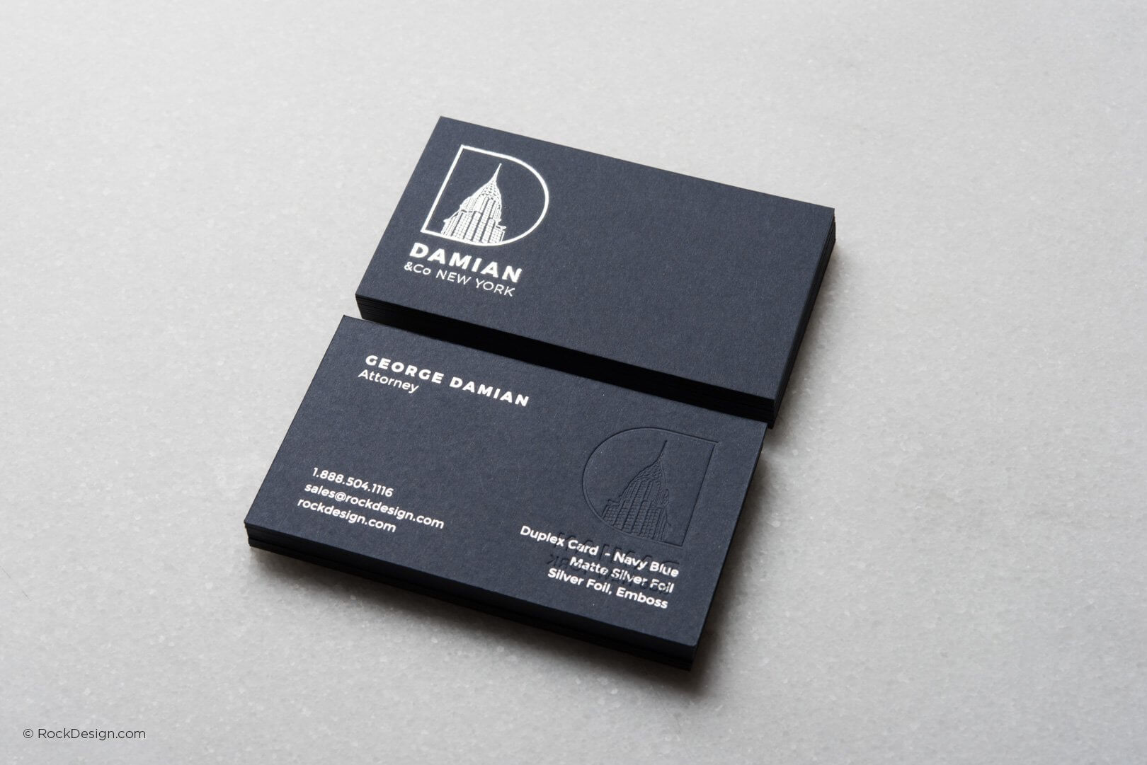 Print Online Embossed Logo Card Templates | Rockdesign throughout Buisness Card Template