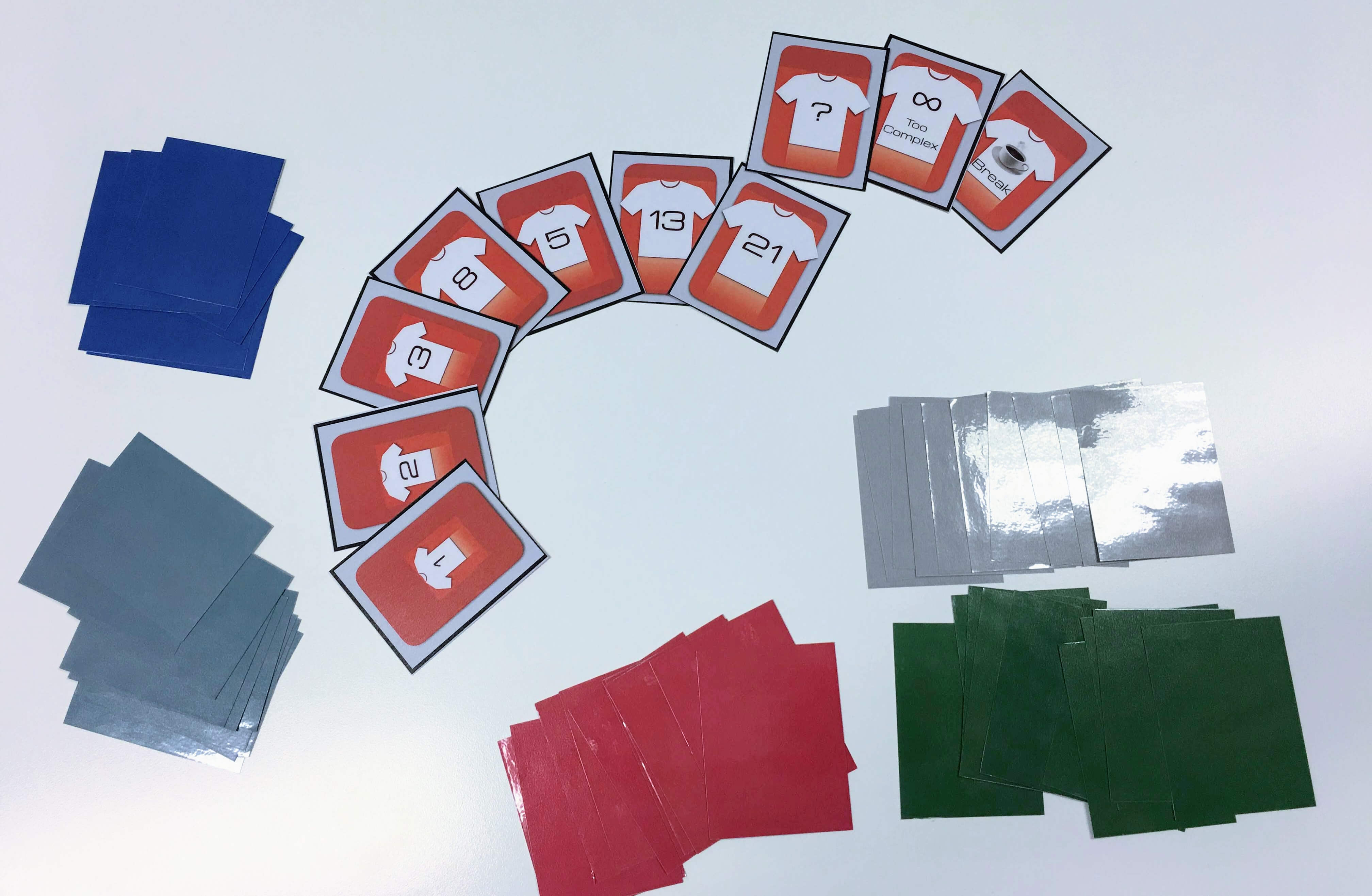 Print Your Own Planning Poker Cards (Fibonacci & T-Shirt in Planning Poker Cards Template