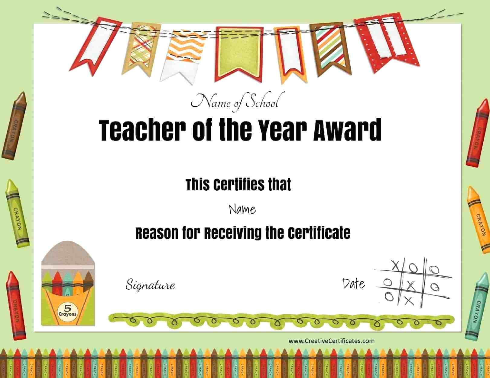 Printable Award Certificates – Bluedotsheet.co Intended For Best Teacher Certificate Templates Free