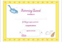 Printable Award Certificates – Bluedotsheet.co within Swimming Certificate Templates Free