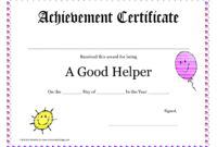 Printable Award Certificates For Teachers | Good Helper throughout Teacher Of The Month Certificate Template