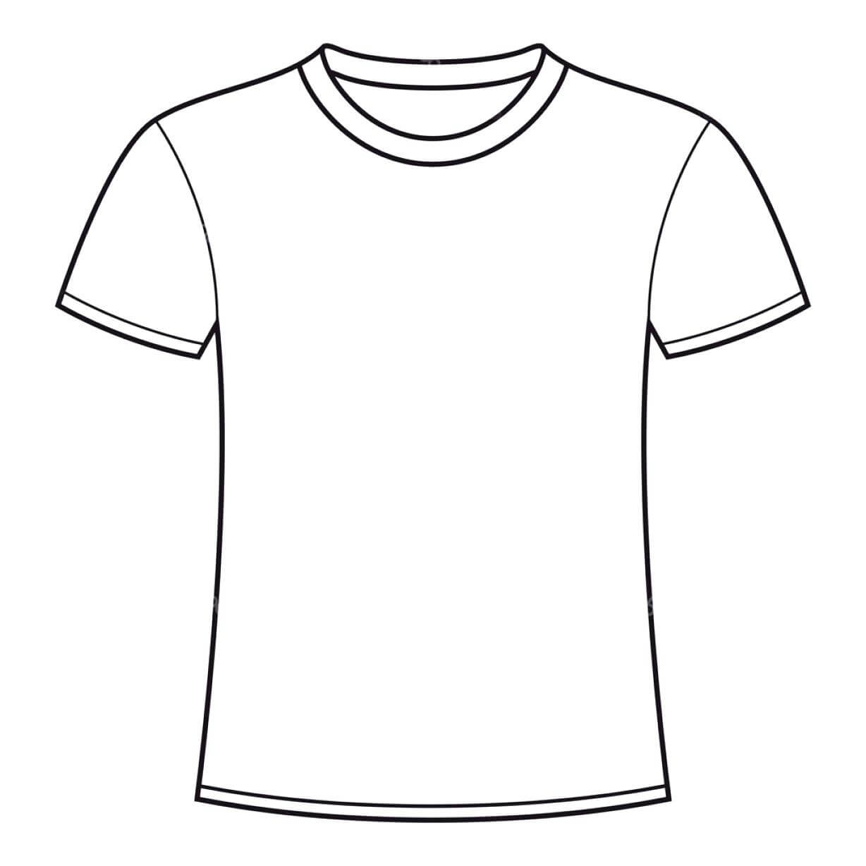 Printable Blank T Shirt Outline ✓ T Shirt Collections with regard to Blank Tshirt Template Printable