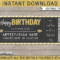 Printable Concert Ticket Template | Birthday Gift Voucher Intended For Golf Gift Certificate Template