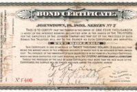 Printable Corporate Bond Certificate Template Koranstickenco throughout Corporate Bond Certificate Template