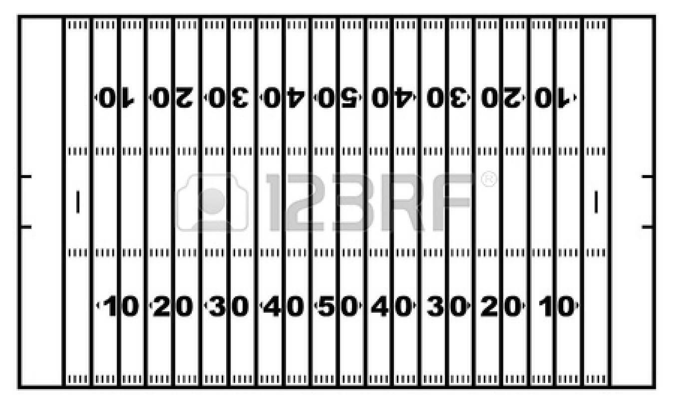 Printable Football Field | Free Download Best Printable intended for Blank Football Field Template