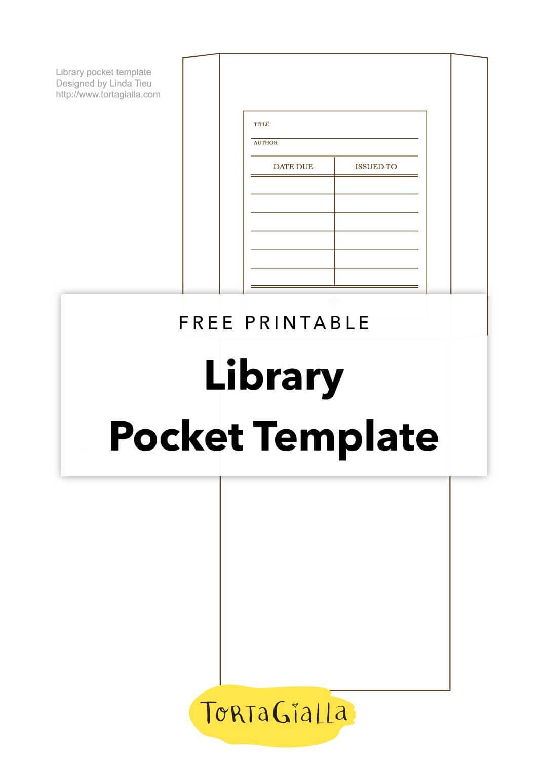 Printable Library Card Template – Free Download | Templates With Regard To Library Catalog Card Template