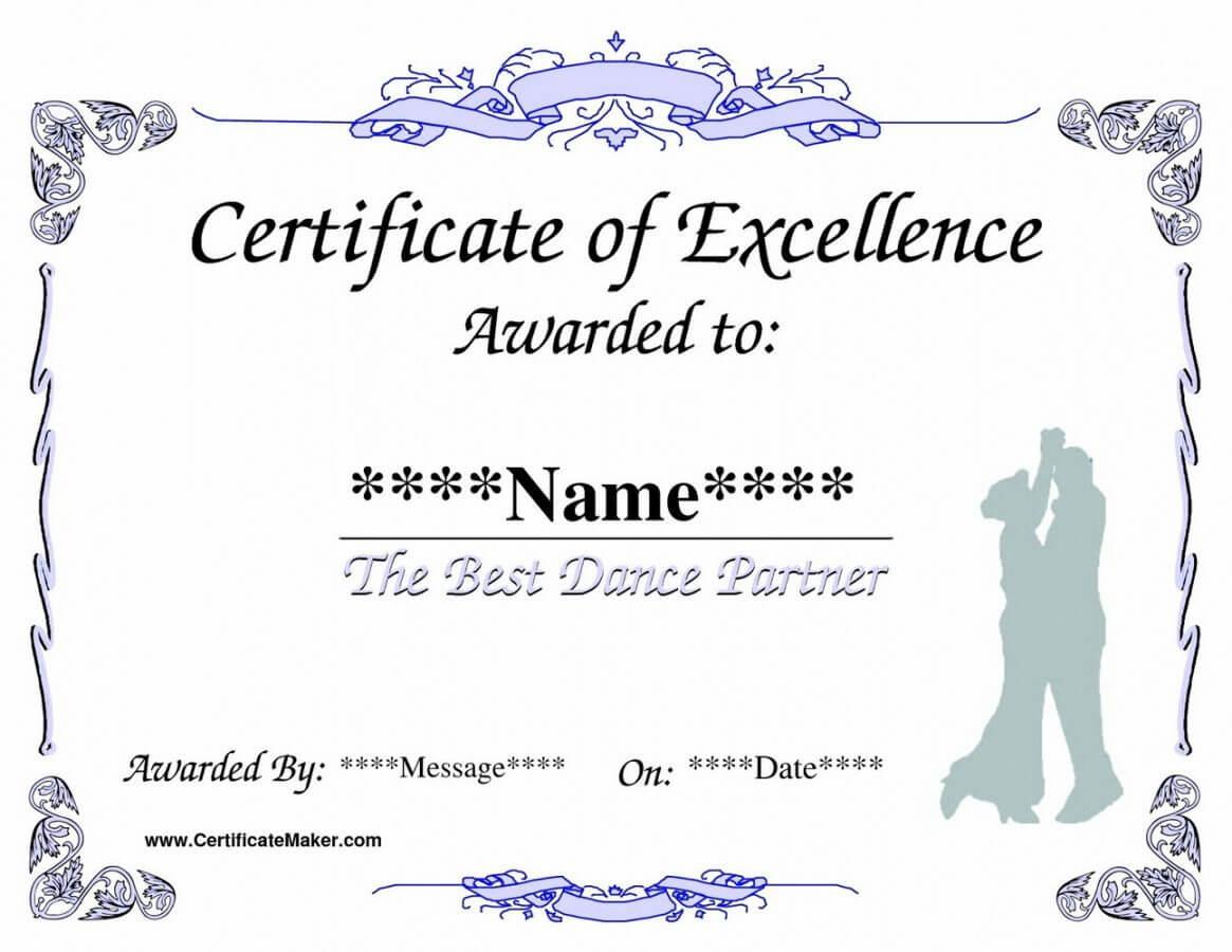 Printable Life Saving Award Certificate Template Templates throughout Life Saving Award Certificate Template