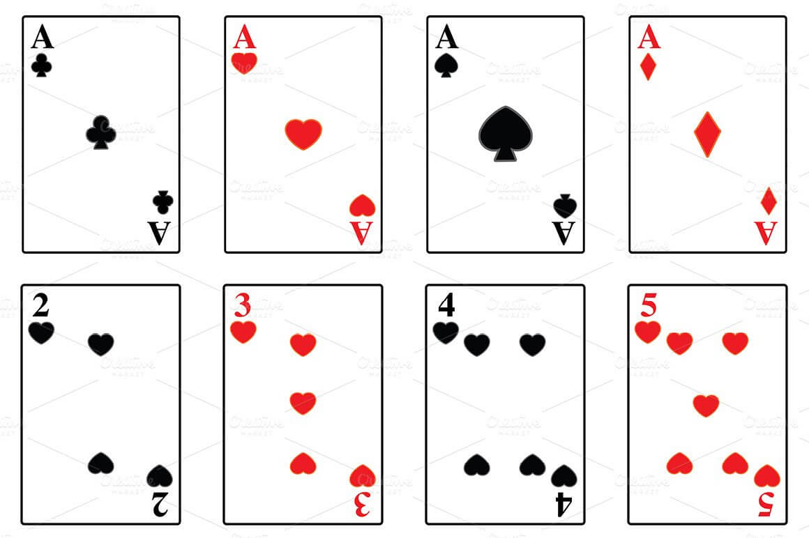 Printable Playing Card Template | Theveliger pertaining to Template For Playing Cards Printable