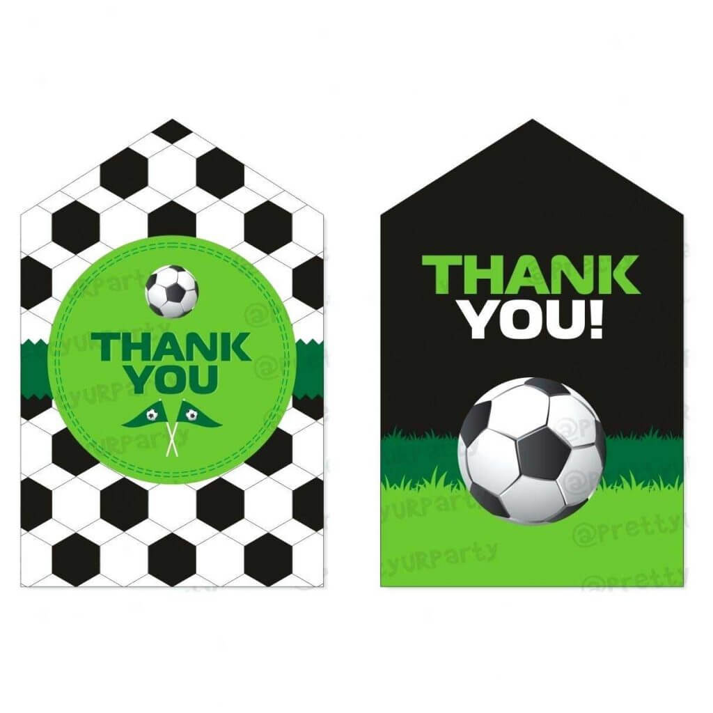 Printable Soccer Card 650*650 - Soccer Thank You Card With Regard To Soccer Thank You Card Template
