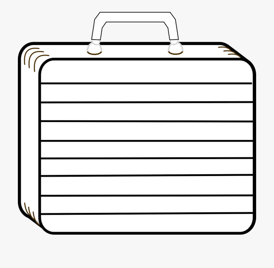 Printable Template Of A Suitcase #2941327 - Free Cliparts On with regard to Blank Suitcase Template